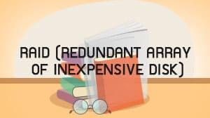 RAID (Redundant Array of Inexpensive Disk)